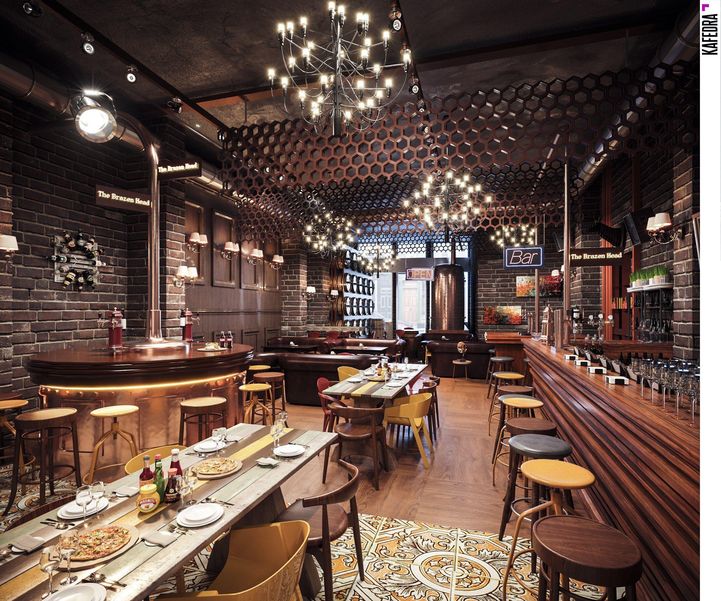 Как выбрать современную мебель для ресторана или кафе