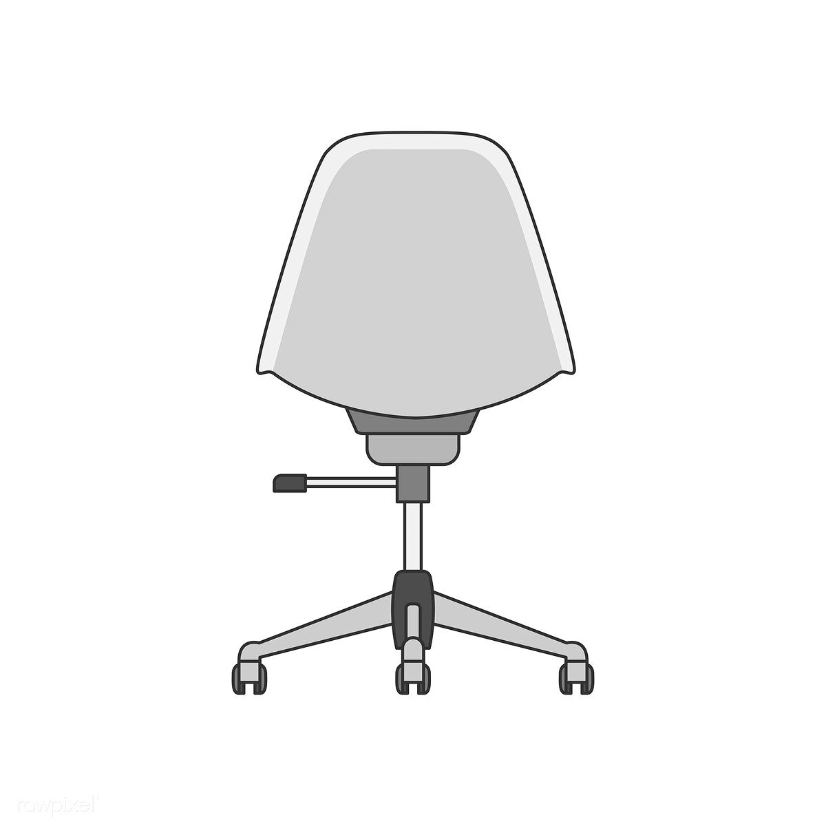 Illustration Of An Office Chair Free Image By Rawpixel Com Office Chair Chair Office Chair Design
