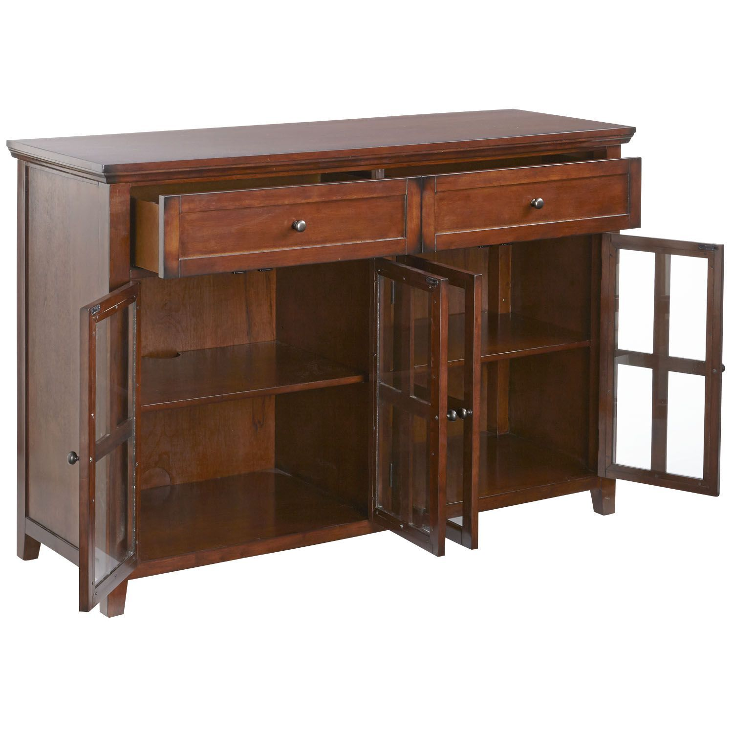 Paul schatz furniture portland or  Ronan Tobacco Brown Large Buffet Table  Buffet Brown and Products