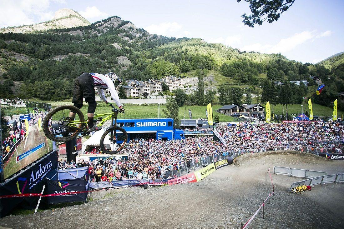 Vallnord cierra la Copa del Mundo de mountain bike 2016.