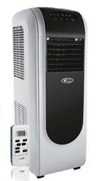 Golden btu portable air conditioner with pint dehumidifier