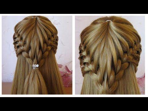 Coiffure cheveux long/mi long Coiffure avec tresse facile