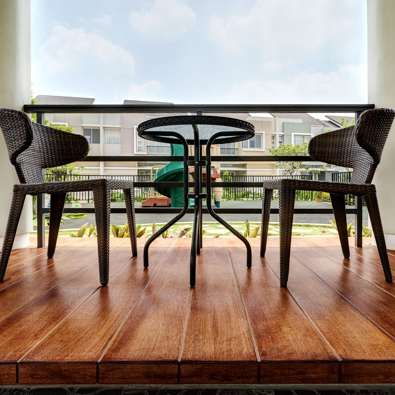Conwood - Aplikasi Lantai - Decorative Deck