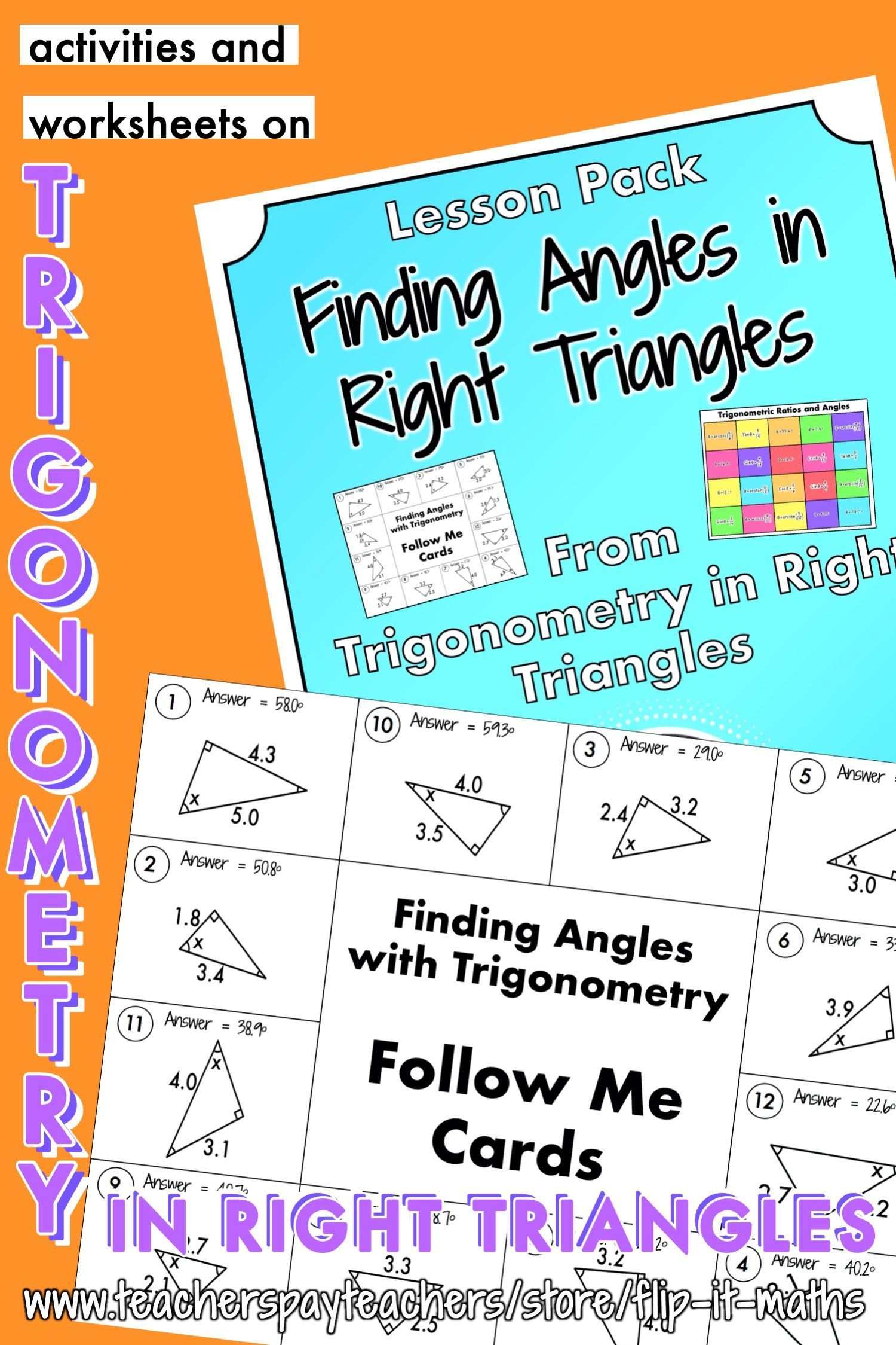 Finding Angles In Right Triangles