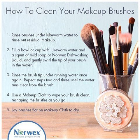 5 easy steps to clean your makeup brushes! Kristinahill