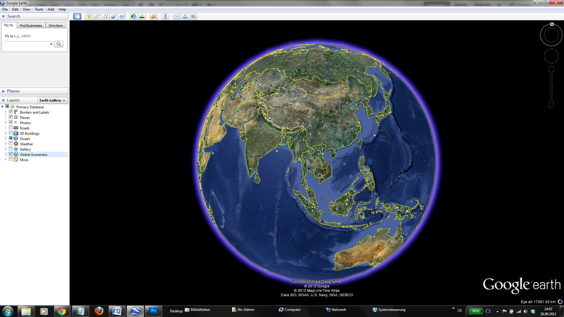 Google Earth Live See Satellite View Of Your House Fly Directly - Google earth map via satellite