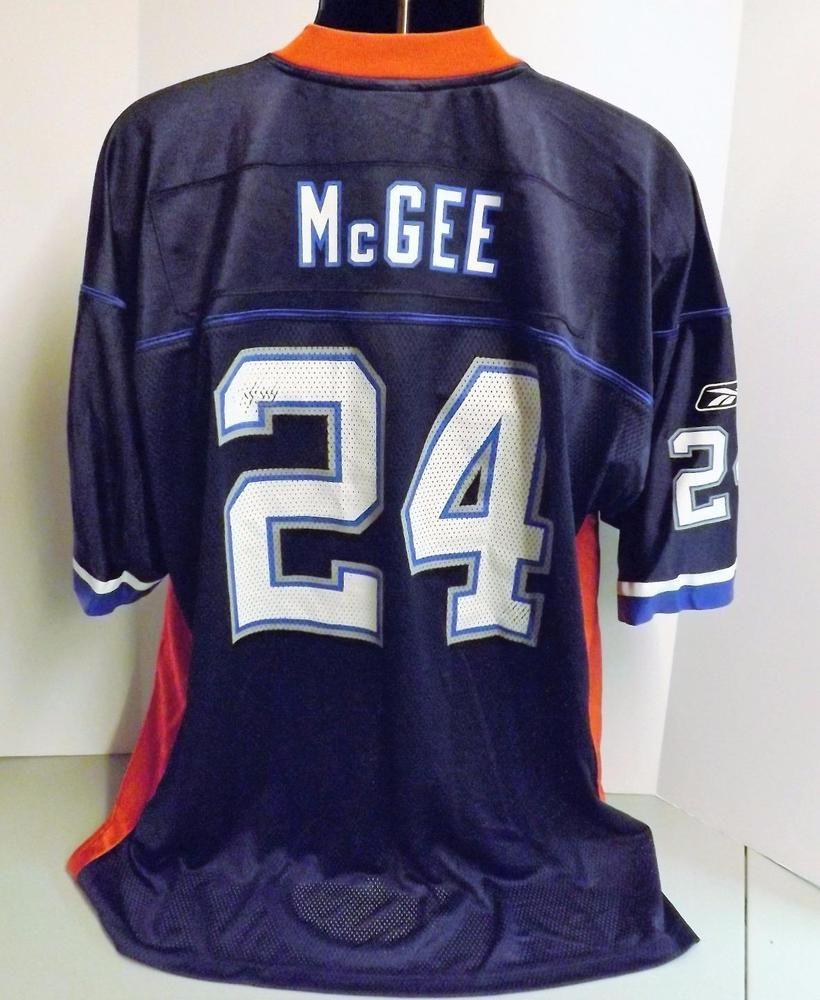 Reebok Rbk NFL Buffalo Bills #24 Terrence McGee Blue XXL Adult Football Jersey #Reebok #BuffaloBills
