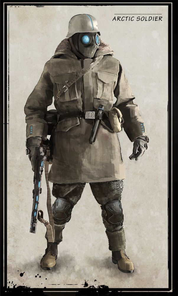 Arctic soldier By Marc Samson