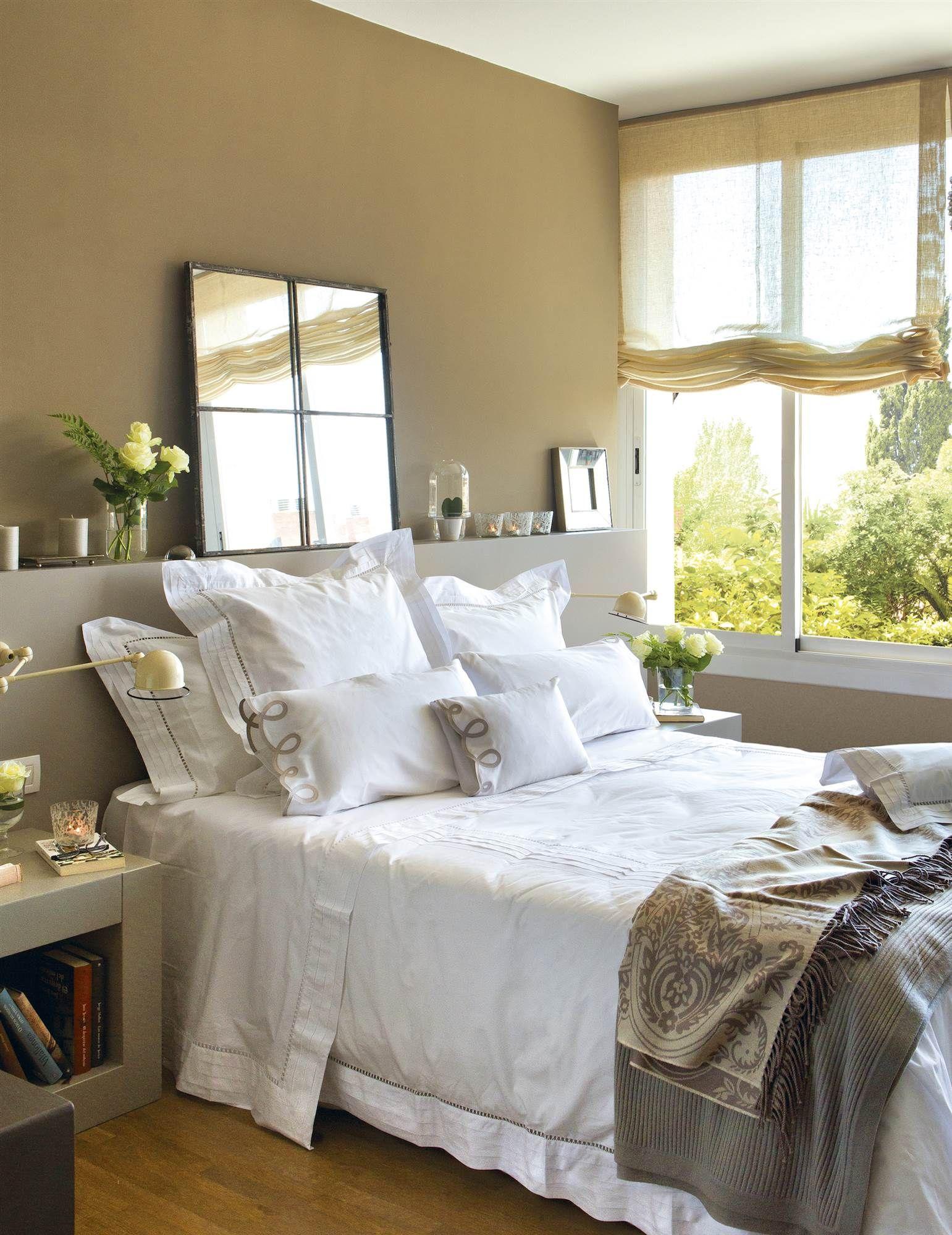 9 ideas para decorar la pared del cabecero dormitorios - Pintar pared dormitorio ...