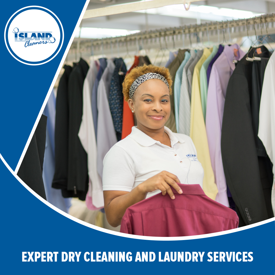Expert dry cleaning and laundry services with on-site tailors and a convenient, dependable delivery service.  #IslandCleaners #laundryservices #drycleaning #caymanislands