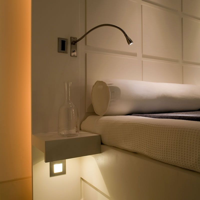 Cama led bedside reading light john cullen lighting