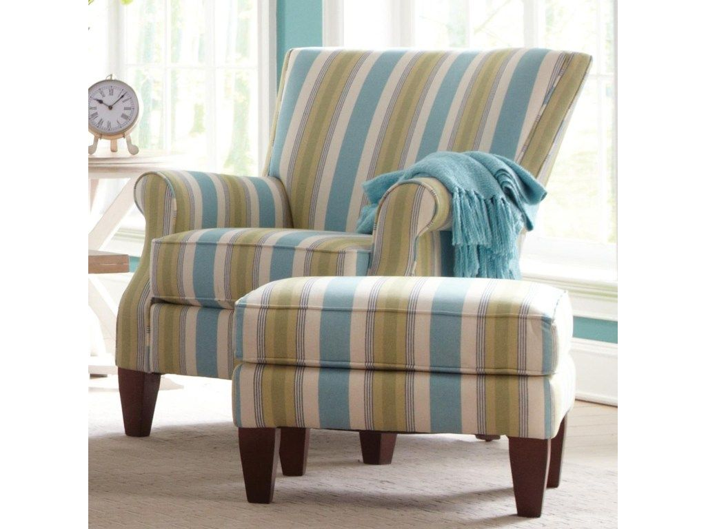 Craftmaster Accent Chairschair And Ottoman Set Chair And