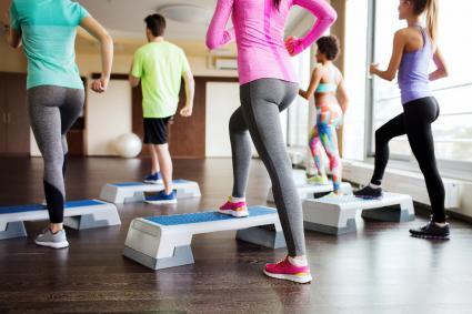 Step Aerobics Routines