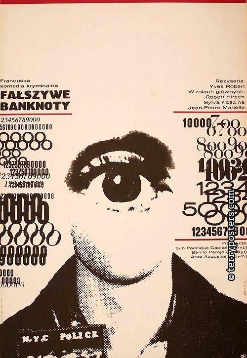 Polnische Filmplakate (Terry-Plakate) -