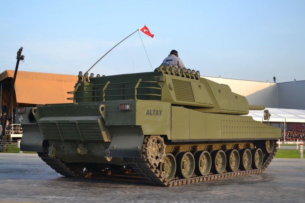 Tamamen Yerli Uretim Olan Milli Silahlarimiz Altay Milli Tank Koc Grubu Na Bagli Otokar In Ana Yuklenicisi Oldugu Projeye 2007 Yilinda B Askeri Muharebe Tank
