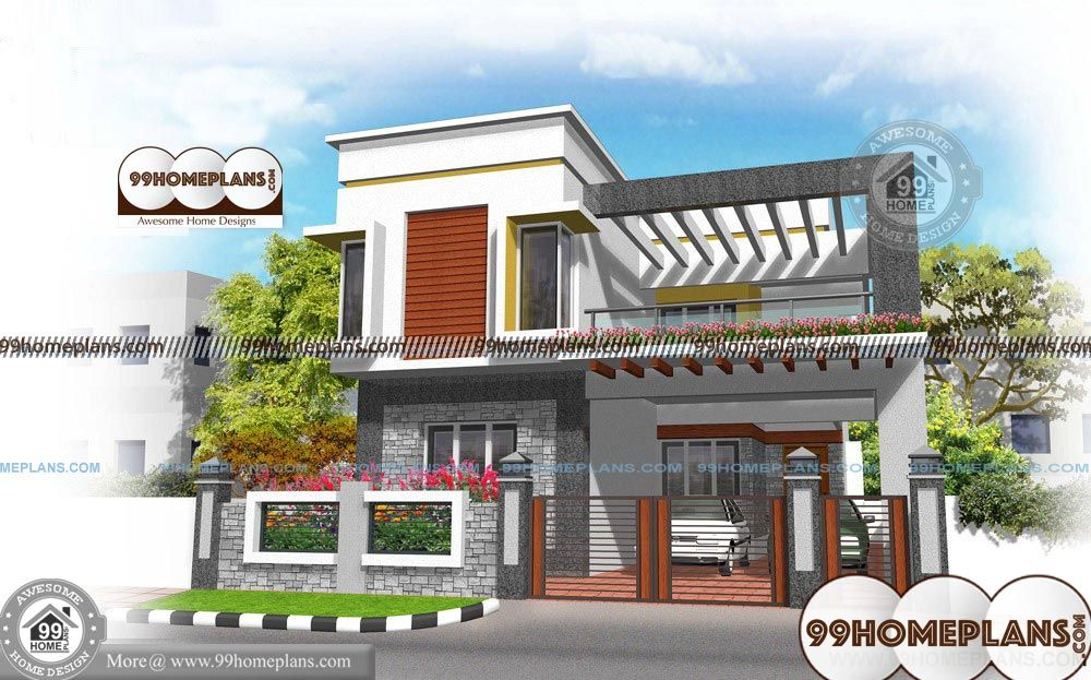 Best House Plans Indian Style Economical Mind Blowing 3 Bhk Homes Double Storey House Plans Small House Design House Design Pictures