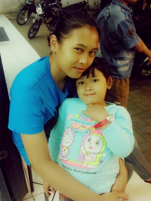 Icha and mom