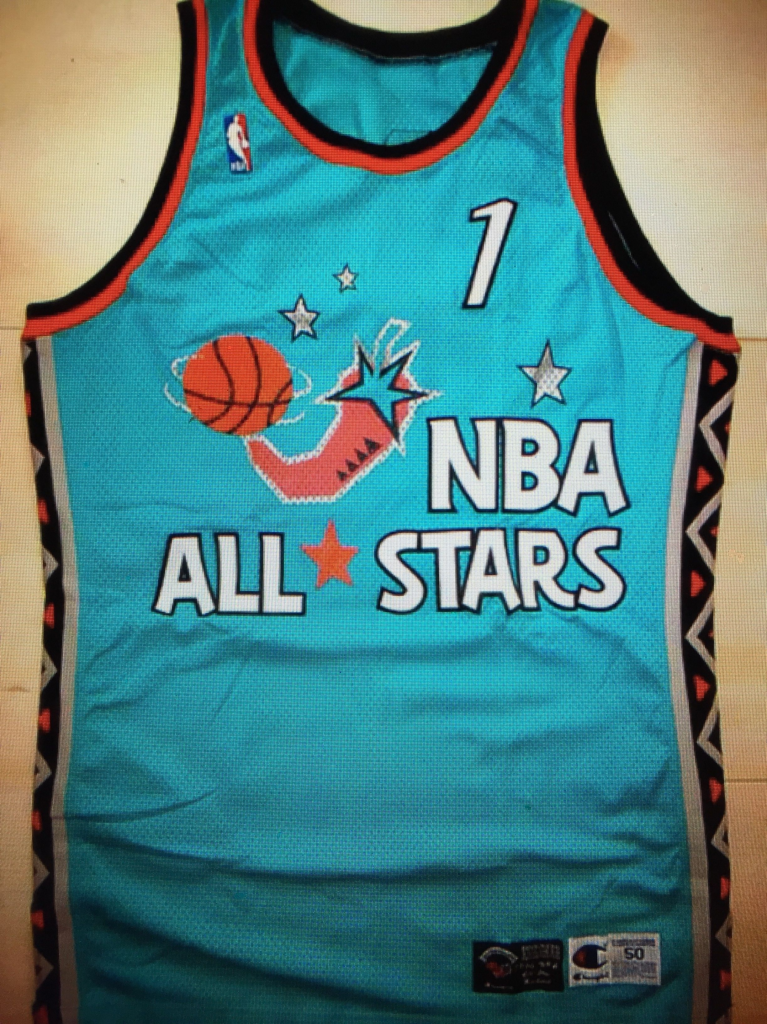 8bcb6ca38df Penny Hardaway 1996 NBA All-Star Athentic Jersey