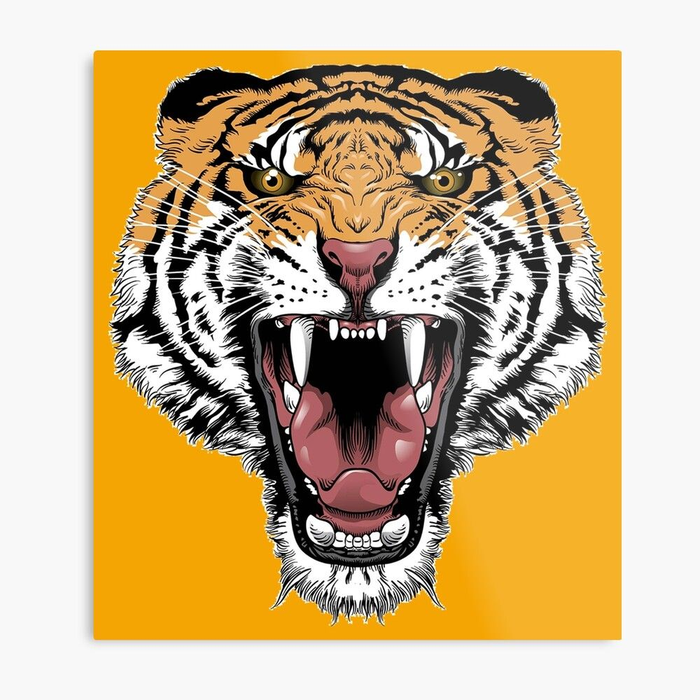 Pin By New Fashion On Ilustraciones In 2021 Lion Face Drawing Angry Tiger Tiger Roaring
