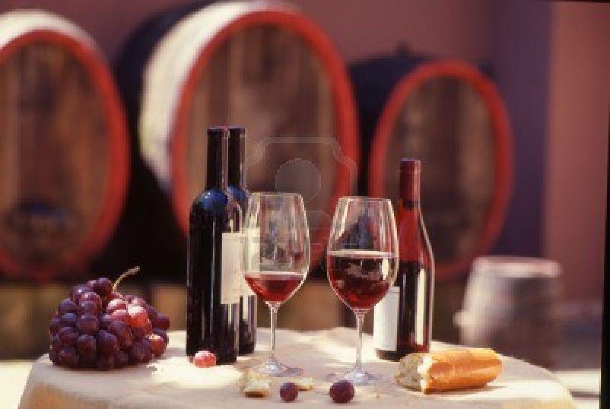 Red Wine Barrel With Still Wine Tasting Red Wine Wine Barrel Wine