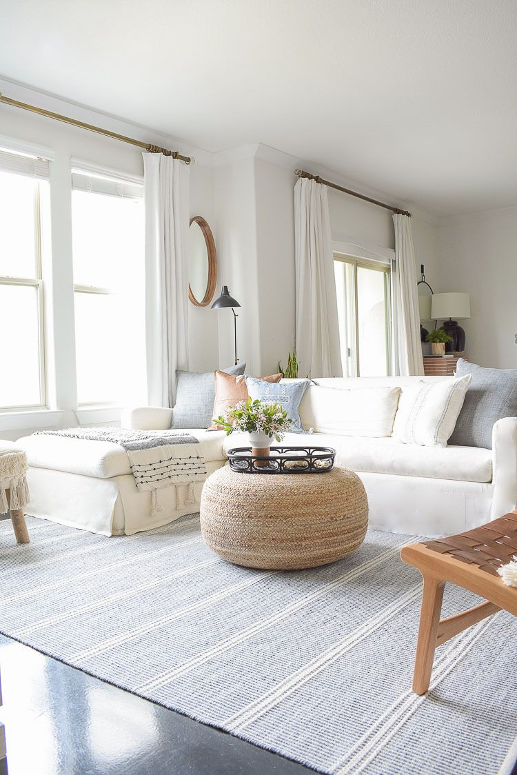 Spring Living Room Tour Zdesign At Home In 2020 Fun Living