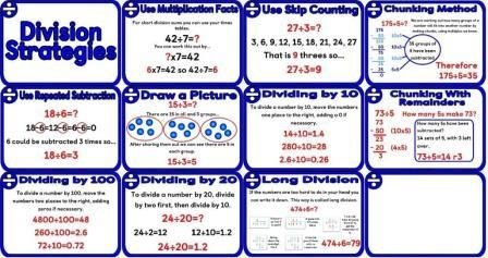 math worksheet : free printable ision hints posters how to tell or find out if  : Chunking Division Worksheets