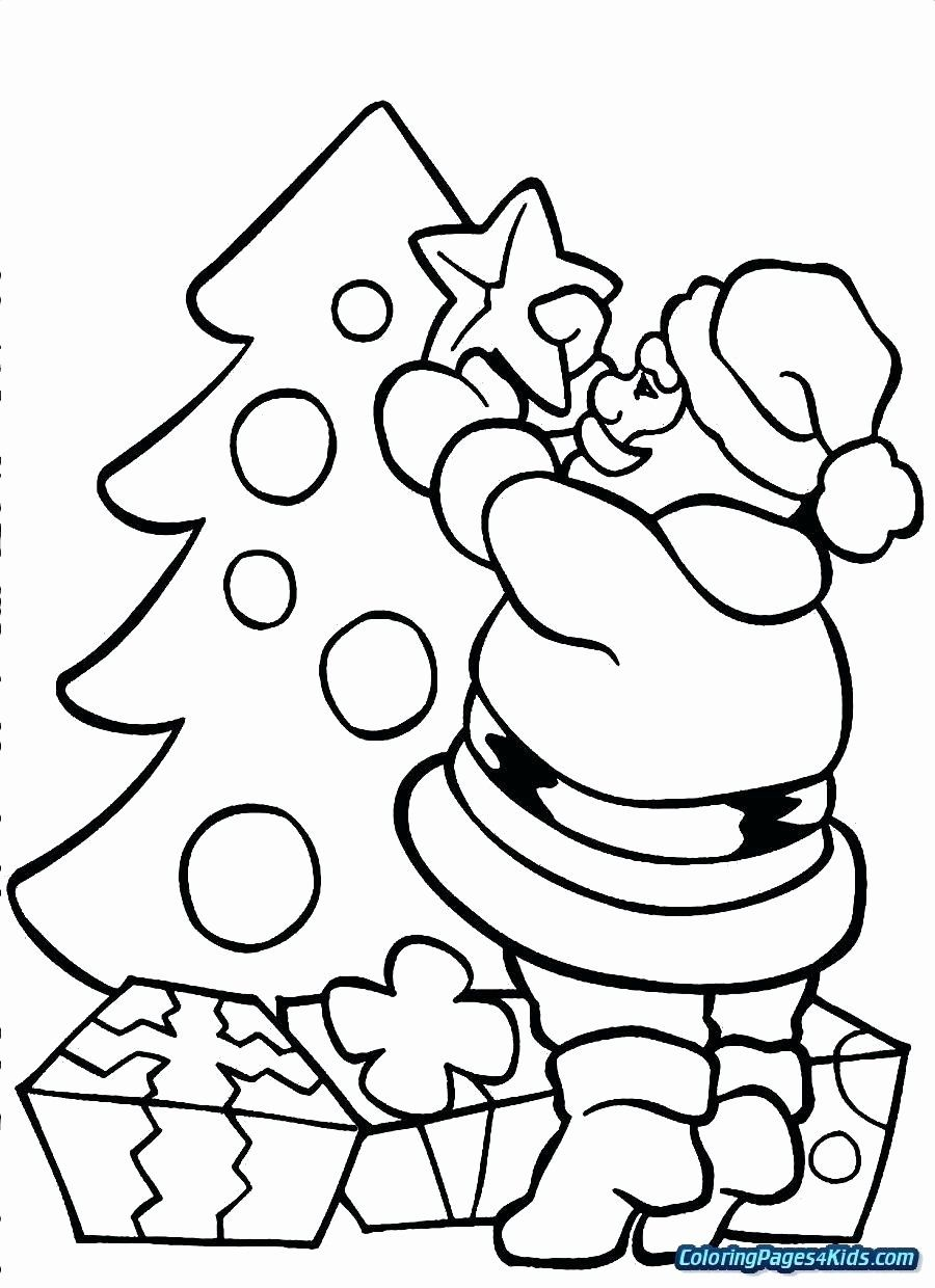 Christmas Tree Coloring Games Online Awesome Coloring Pages Of Santa Claus In His Sl Santa Coloring Pages Printable Christmas Coloring Pages Tree Coloring Page