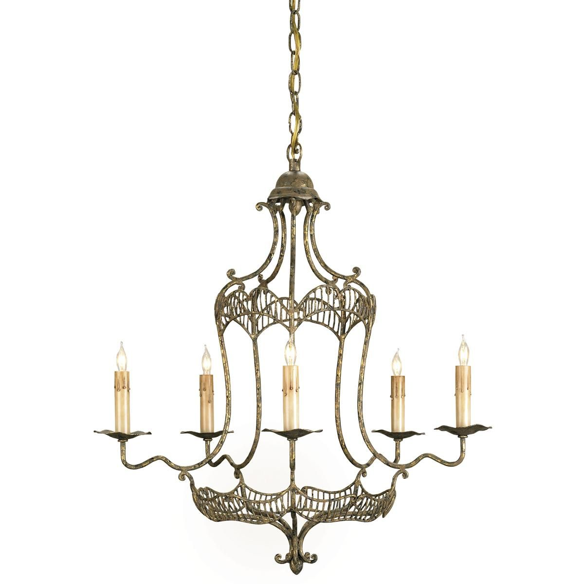 Gold Carnival Swag Chandelier - 5 Lt. | For the Home | Pinterest ...
