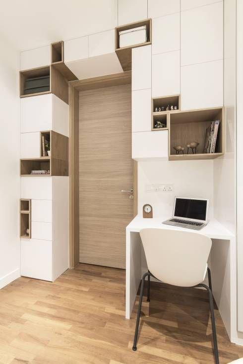 8 Modi Intelligenti Per Utilizzare Gli Spazi Difficili In Casa Design Di Interior Scandinavo Porte Interne Idee Per Interni