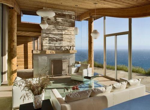 Traumhaus inneneinrichtung modern  erstaunliche in die Erde eingebaute Häuser modern rustikal ...