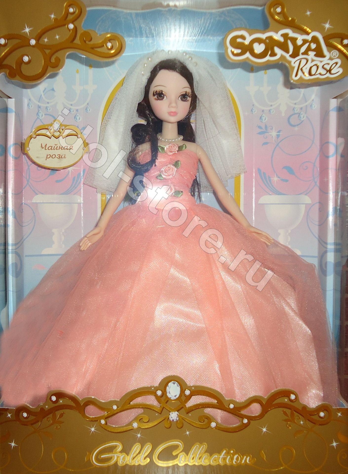 Свадебное платье для куколки Сери