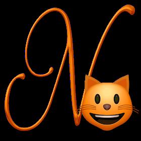 Alphabets By Monica Michielin Cat Emoticon Emoji Alphabet Png Cat Emoticon Emoji Alphabet