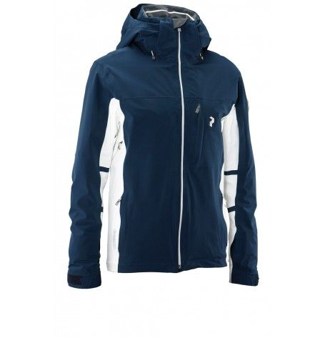 82ae573619 Enjoy every moment of the ski season with the highly waterproof and  breathable jacket from Peak Performance Supreme Lugano.