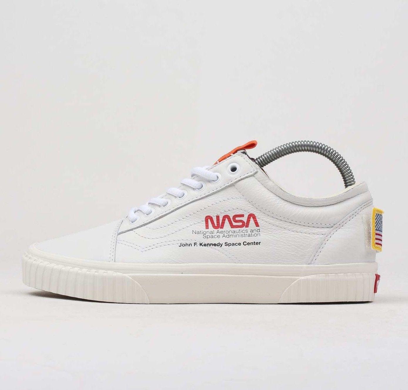 Vans x NASA Old Skool Space Voyager True White VA38G1UP91 Shoes ...