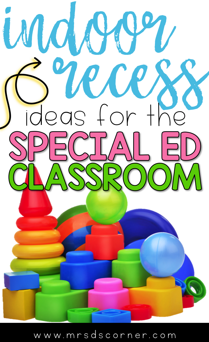 Special Education Challenge For >> Indoor Recess Ideas For The Special Ed Classroom Mrs D S Blog