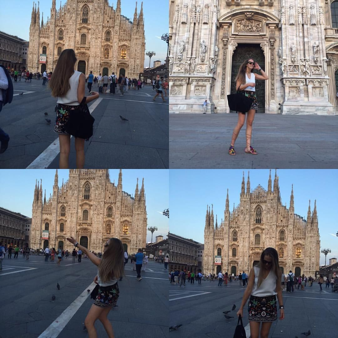 Fun in Milano with Heart Entry