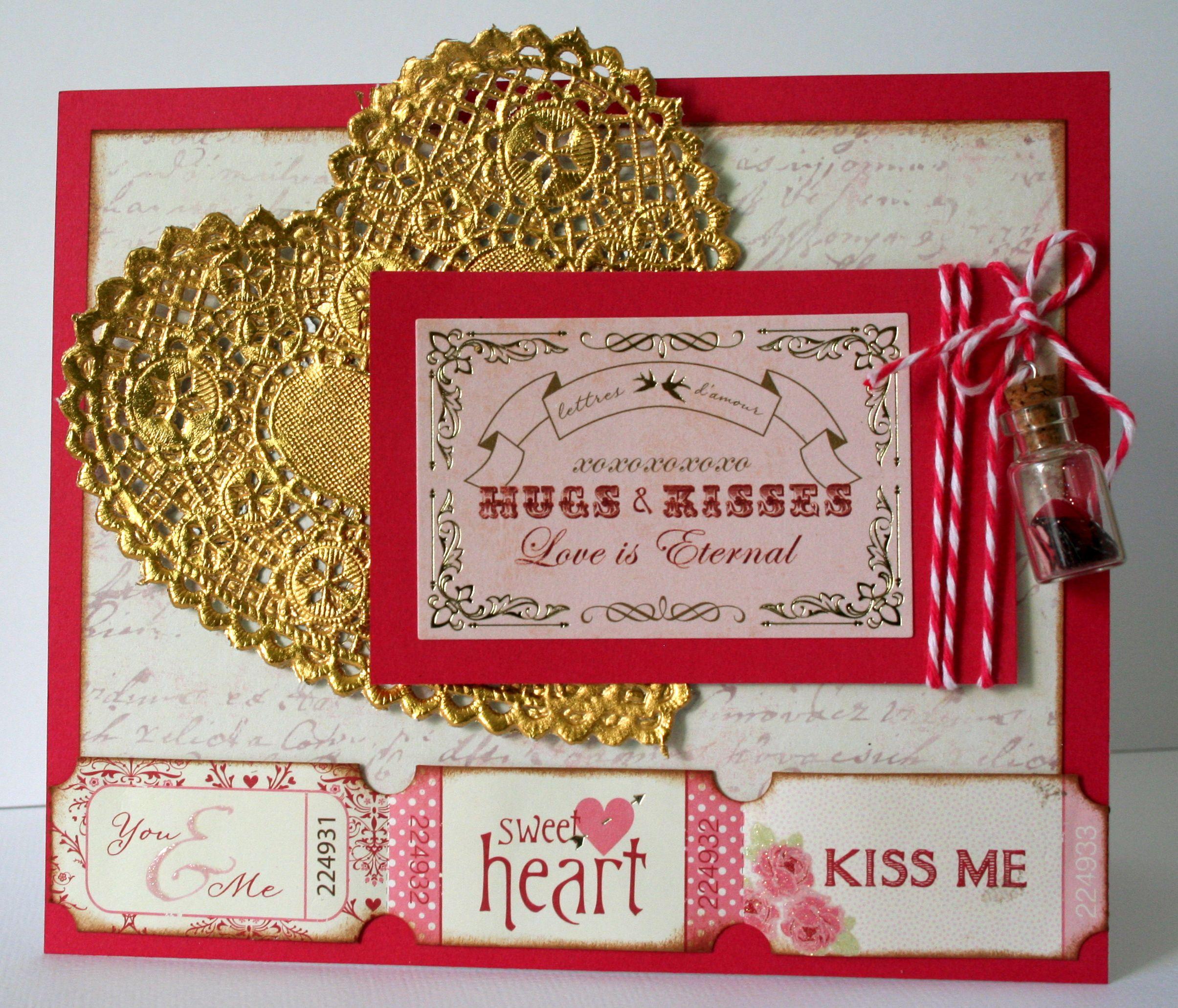 Hugs & Kisses - Scrapbook.com