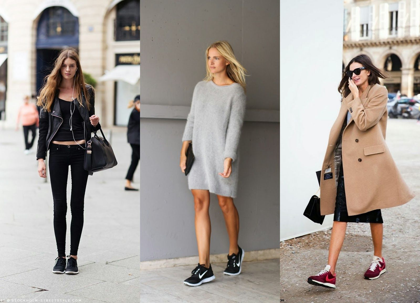 nike trainers street style | Stockholm