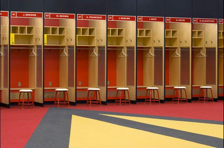 Beaky Arizona Cardinals Locker Room Pentagra University Of Phoenix Stadium Locker Room Stadium