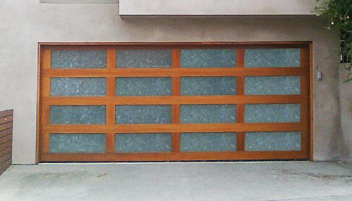 Glass Garage Door In San Diego Modern Garage Doors Modern