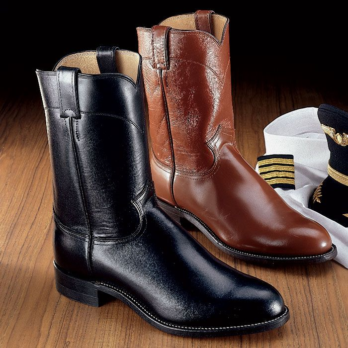 Justin Black Roper Boot - Sporty's