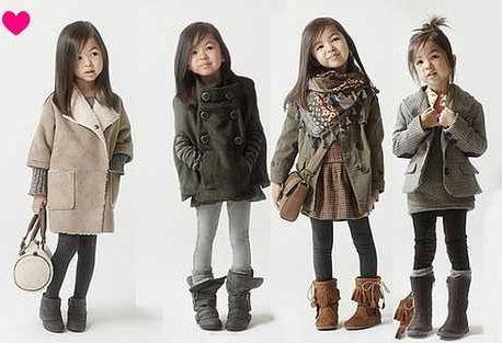 Winter coat toddler fashion