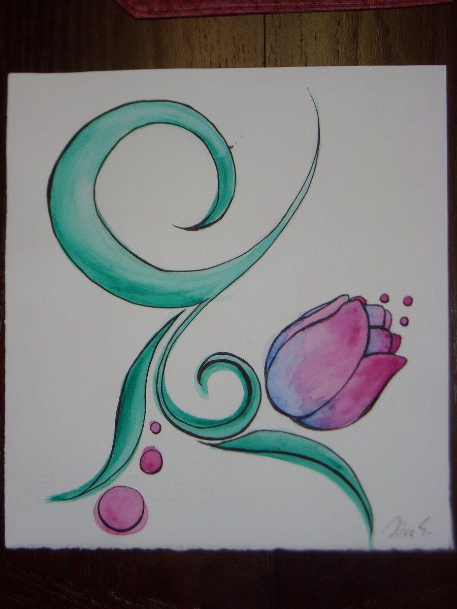 Tulip Watercolour by tAnGeRiNeGuItArPiCk on DeviantArt