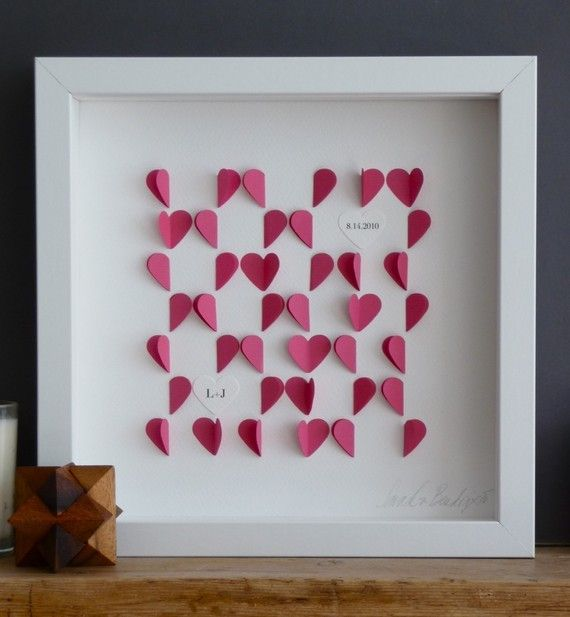 Too cute, a personalised love heart frame - great wedding gift ...