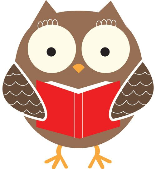 Image result for story time owl clip art