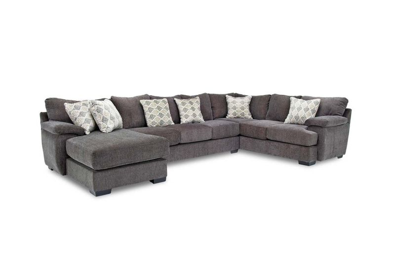 Bermuda Tux Sofa Chaise Sectional In Victory Left Facing Chaise Sofa Left Facing Chaise Sofa