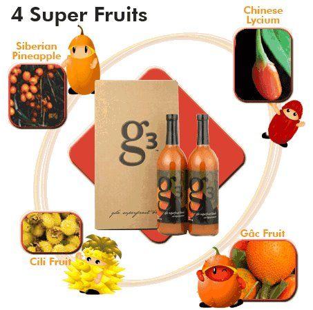 Nu Skin G3 Juice by Pharmanex New Free Ship