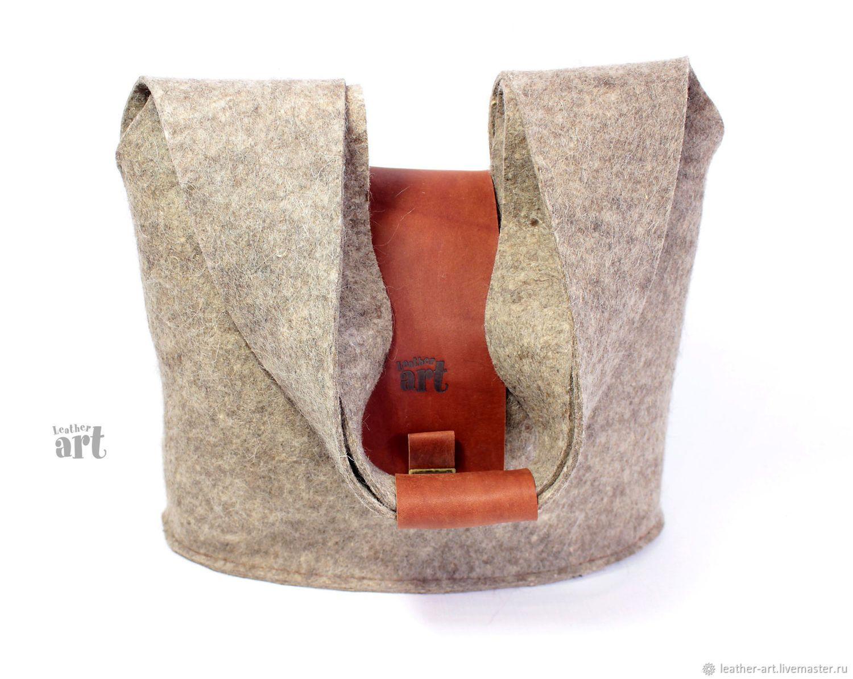 50a0270cb8 Bag felt women's Grey rabbit | Ayakabı çanta ve aksesuarlar ...