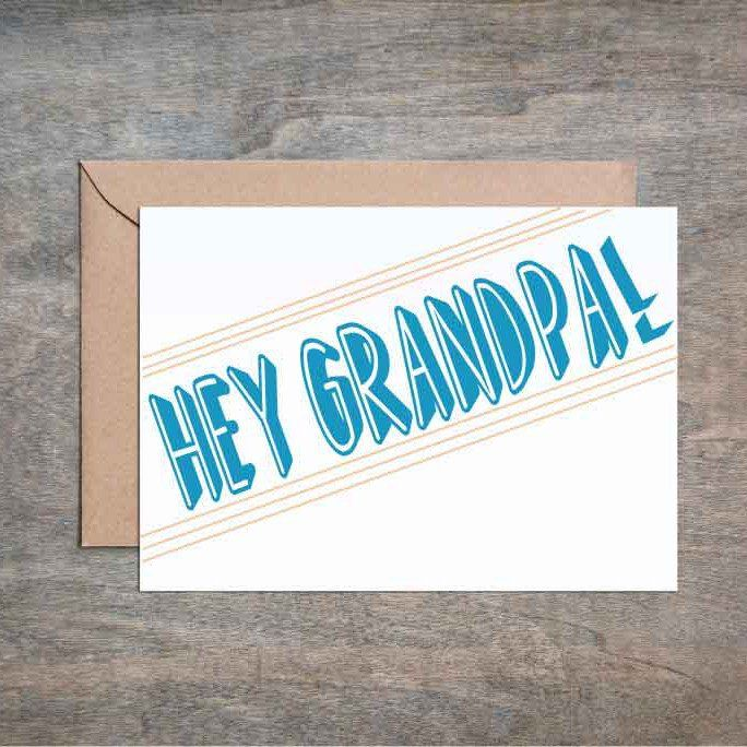 Hey Grandpa Fathers Day Card Funny Fathers Day Card Funny Dad
