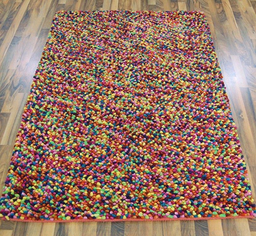Multi Coloured Rug Home Decor